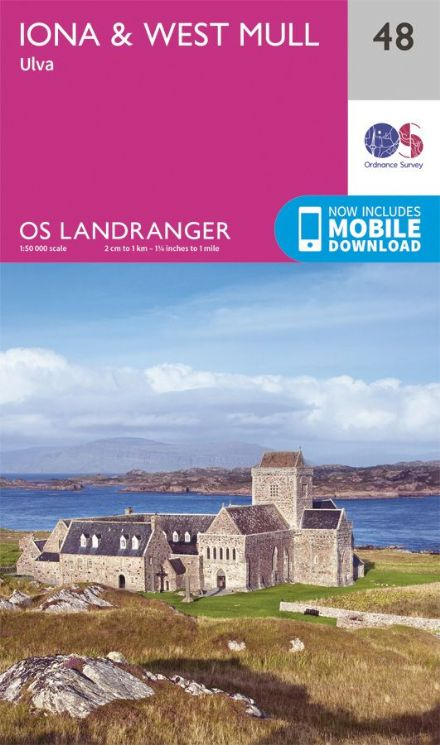 OS Landranger 48 - Iona and West Mull and Ulva
